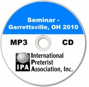 Seminar – Garrettsville 2010 (6 tracks)