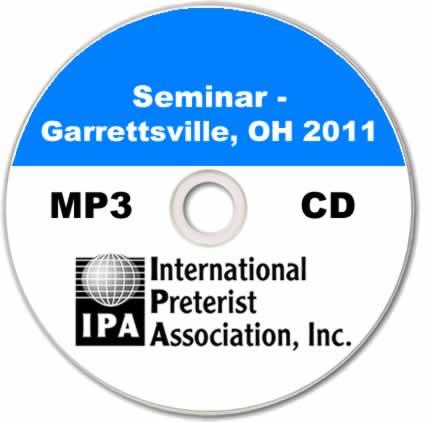 Seminar - Garrettsville 2011 (6 tracks)