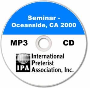 Seminar – Oceanside CA (9 tracks)
