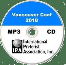 Vancouver Pret Conf 2018 (MP3 CD)
