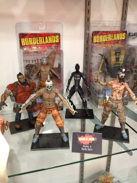 SDCC 2012 - NECA Borderlands