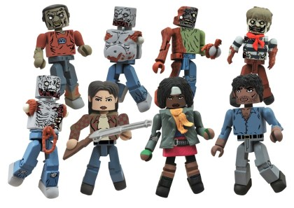 Diamond Select Walking Dead Minimates - Series 2 Toysrus