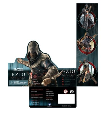 NECA Assassins Creed Revelations - Ezio Packaging