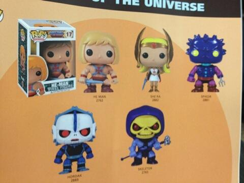 Funko Pop Vinyl Masters of the Universe