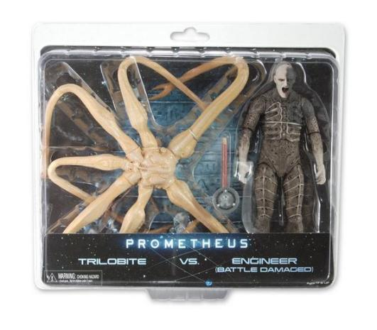 NECA Prometheus Trilobite and Engineer