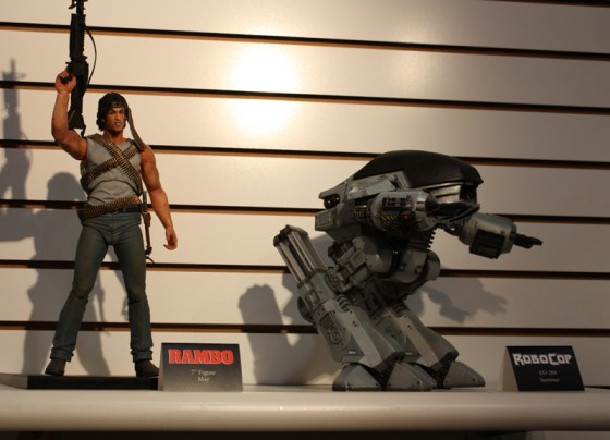 Toy Fair 2013 - Rambo and Robocop ED-209