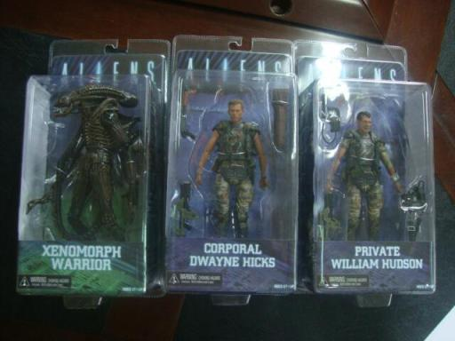 NECA Aliens Series 1 - Carded Production