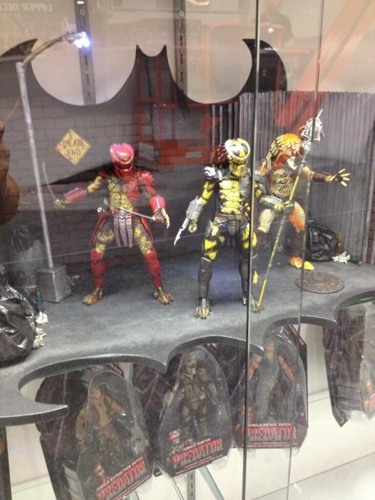 SDCC 2013 - NECA Predator Dead End Wasp
