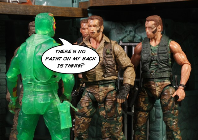 NECA Predator Series 11 Thermal Vision Dutch Review