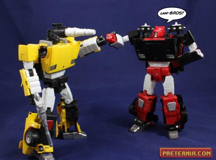 Takara Transformers Masterpiece G2 Sideswipe Lambor Review