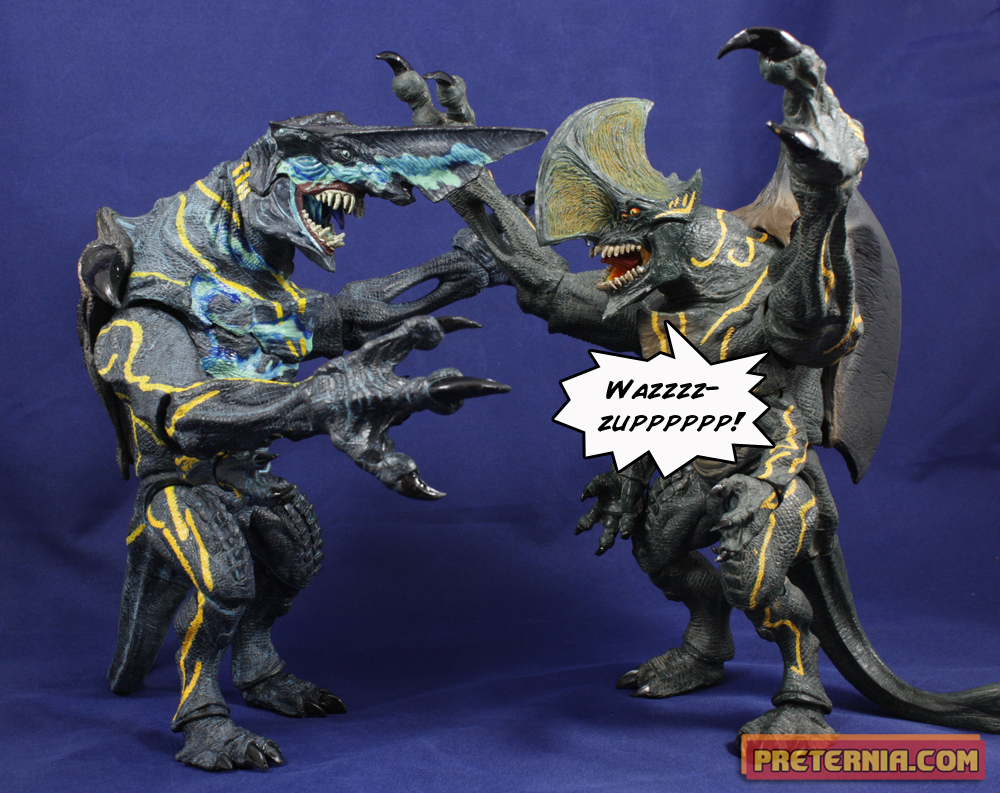 NECA Pacific Rim S3 Knifehead Review « Preternia