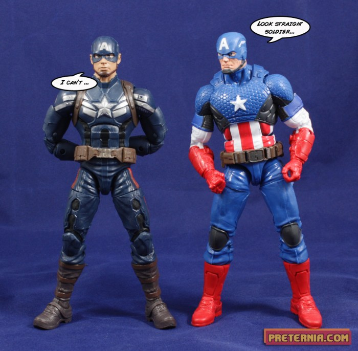 Hasbro Marvel Legends Captain America Infinite Mandroid Winter Soldier Captain America