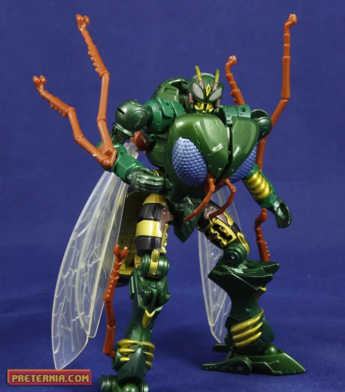 Takara Transformers Generations TG-30 Waspinator Review Beast Wars