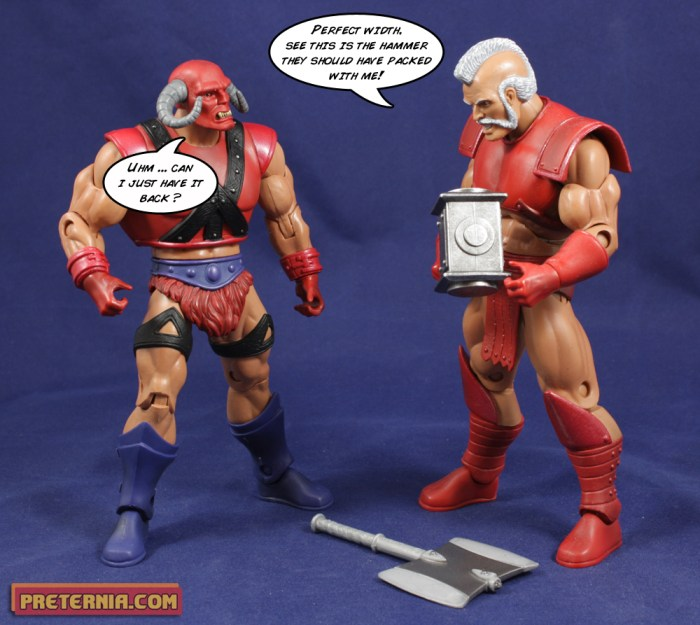 Masters of the Universe Classics MOTUC Goat Man Review Exclusive