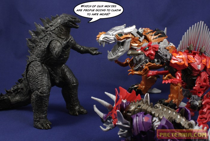 NECA Godzilla 2014 Review