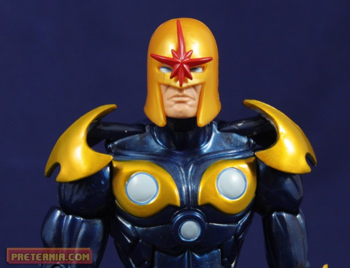 Hasbro Marvel Legends Guardians of the Galaxy Nova Review