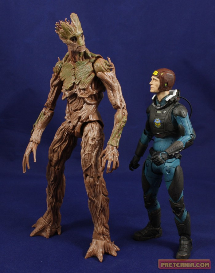 Hasbro Marvel Legends Guardians of the Galaxy Groot BAF Review