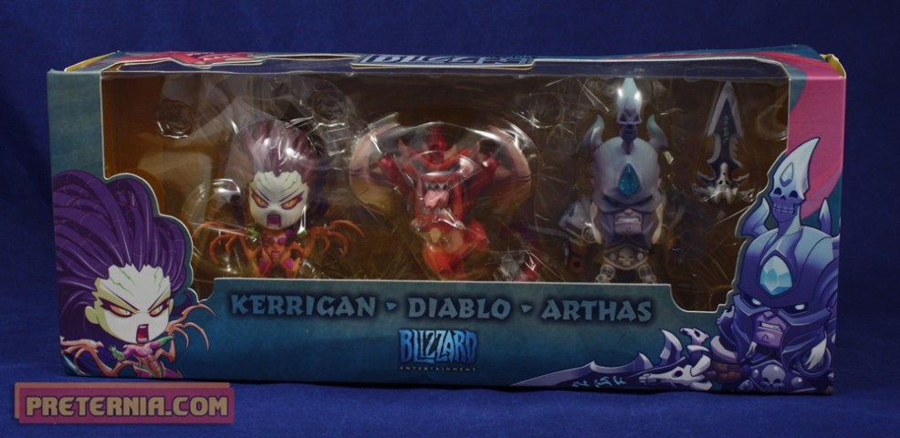 Blizzard Cute but Deadly Kerrigan Diablo Arthas SDCC Set