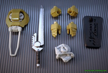 Mechanaut Soldier accessories