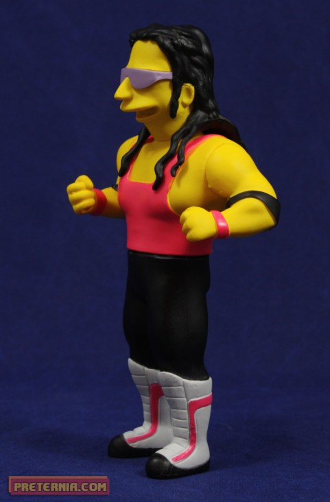NECA Simpsons 25th Anniversary Bret Hart