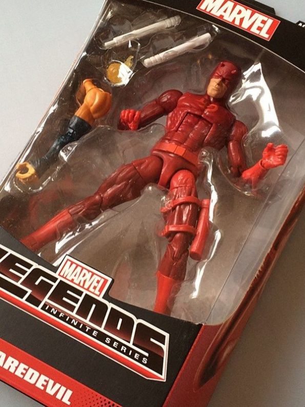 Marvel Legends Spider-Man Infinite 2015 Daredevil