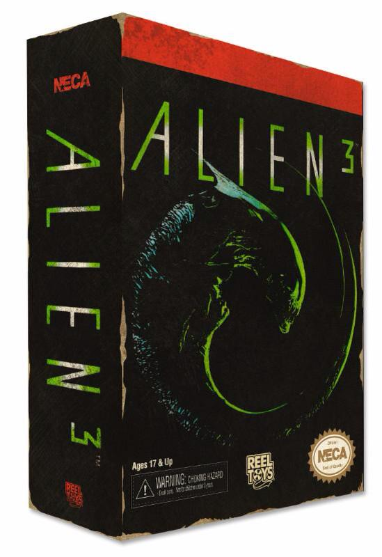NECA Alien3 Video Game 8-Bit Dog Alien