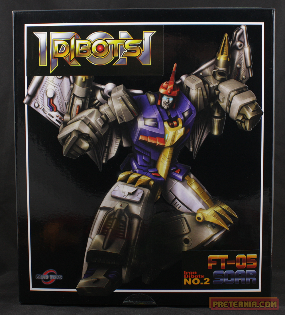 Fans Toys FT-05 Soar Swoop Iron Dibots