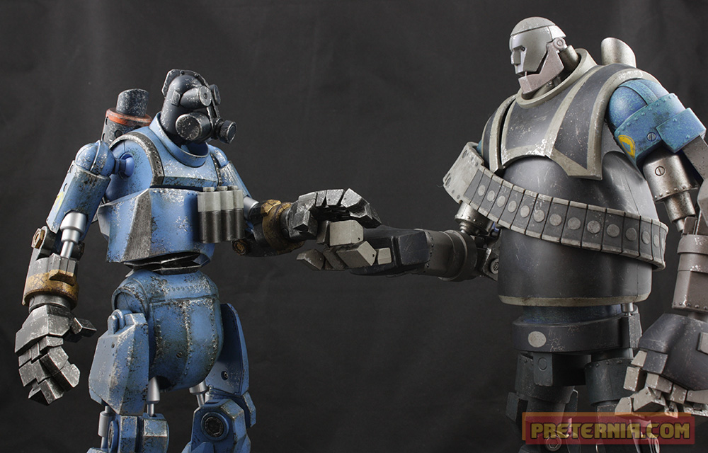 3A Team Fortress 2 1/6 Robot Pyro Review « Preternia