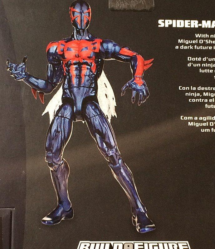 Marvel Legends Spider-Man Infinite 2015 Spider-Man 2099