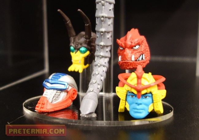 Toy Fair 2015 Mattel MOTUC 200x Heads