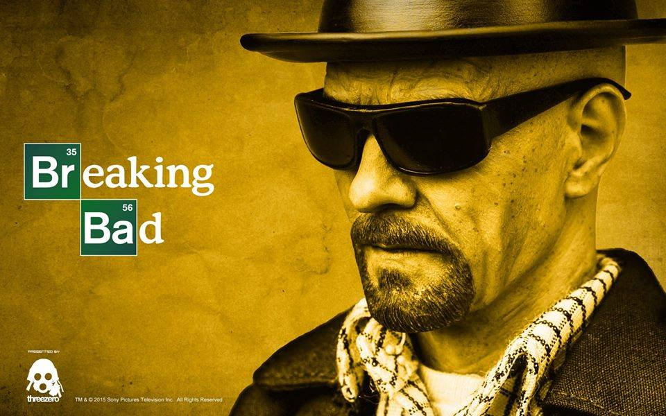 ThreeZero Breaking Bad 1/6 Scale Heisenberg
