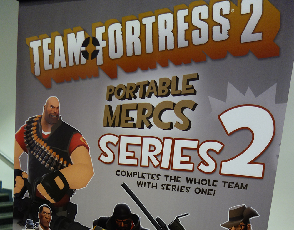 Toy Fair 2015 The Coop Team Fortress 2