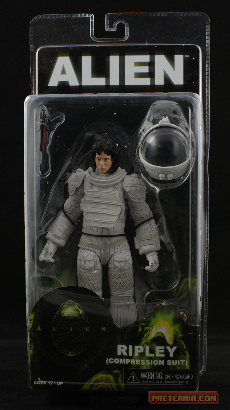NECA Alien Series 4 Ripley Compression Suit