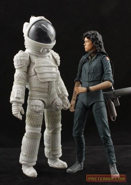 NECA Alien Series 4 Ripley Compression Suit