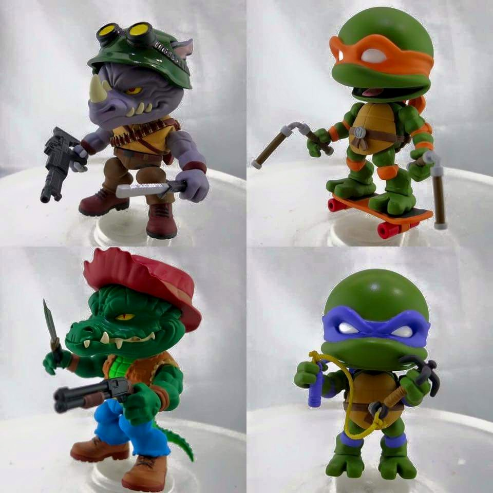The Loyal Subjects TMNT Series 2 Action Vinyl