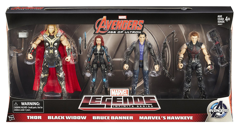 Hasbro Marvel Legends Amazon Avengers 4-Pack