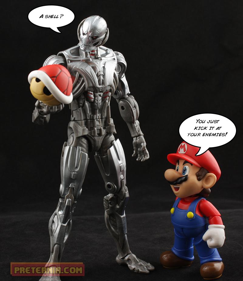 Marvel Legends Ant-Man Ultron BAF