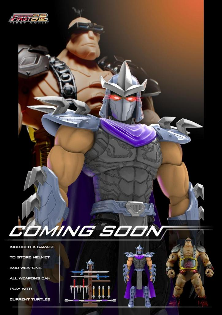 First Gokin TMNT Shredder Reveal