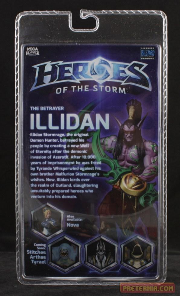 NECA Heroes of the Storm Illidan Stormrage Blizzard
