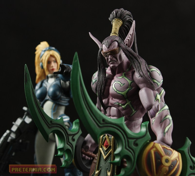 NECA Heroes of the Storm Illidan Stormrage Blizzard