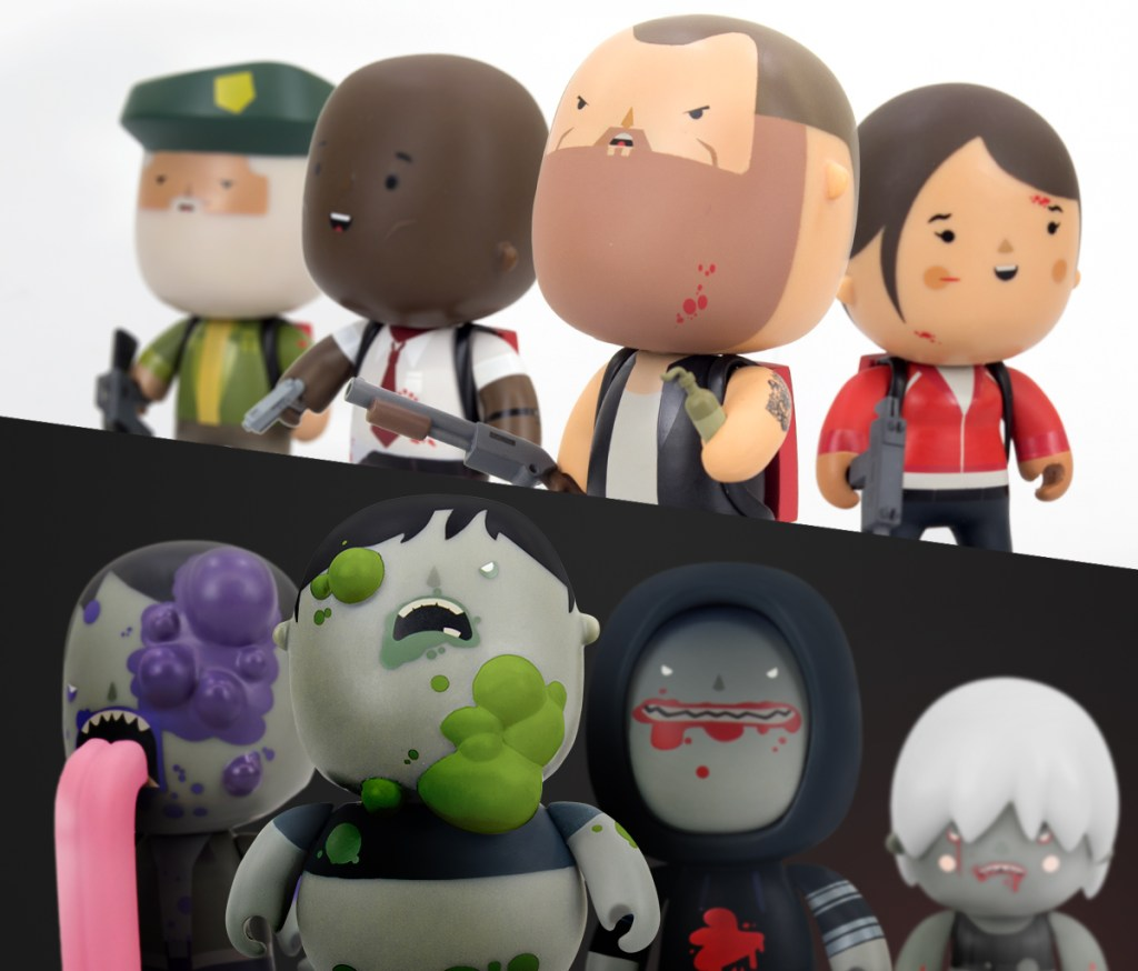 Welovefine Vinylkins Left 4 Dead
