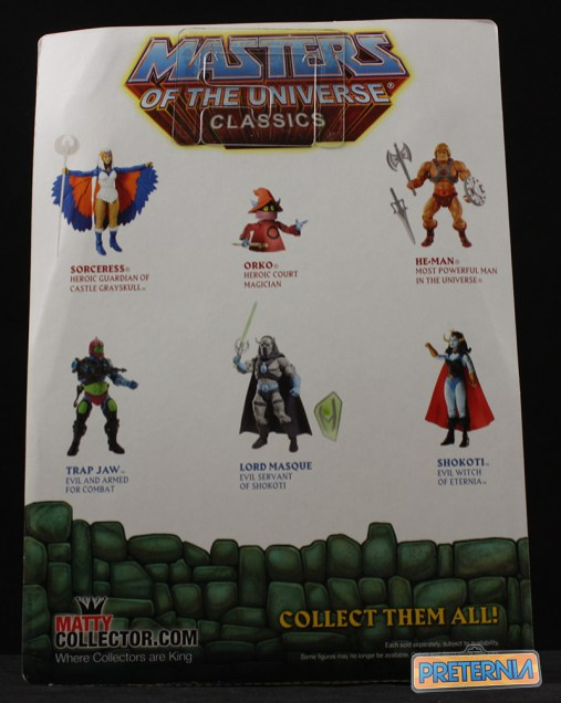 Mattel MOTUC Lord Masque Review