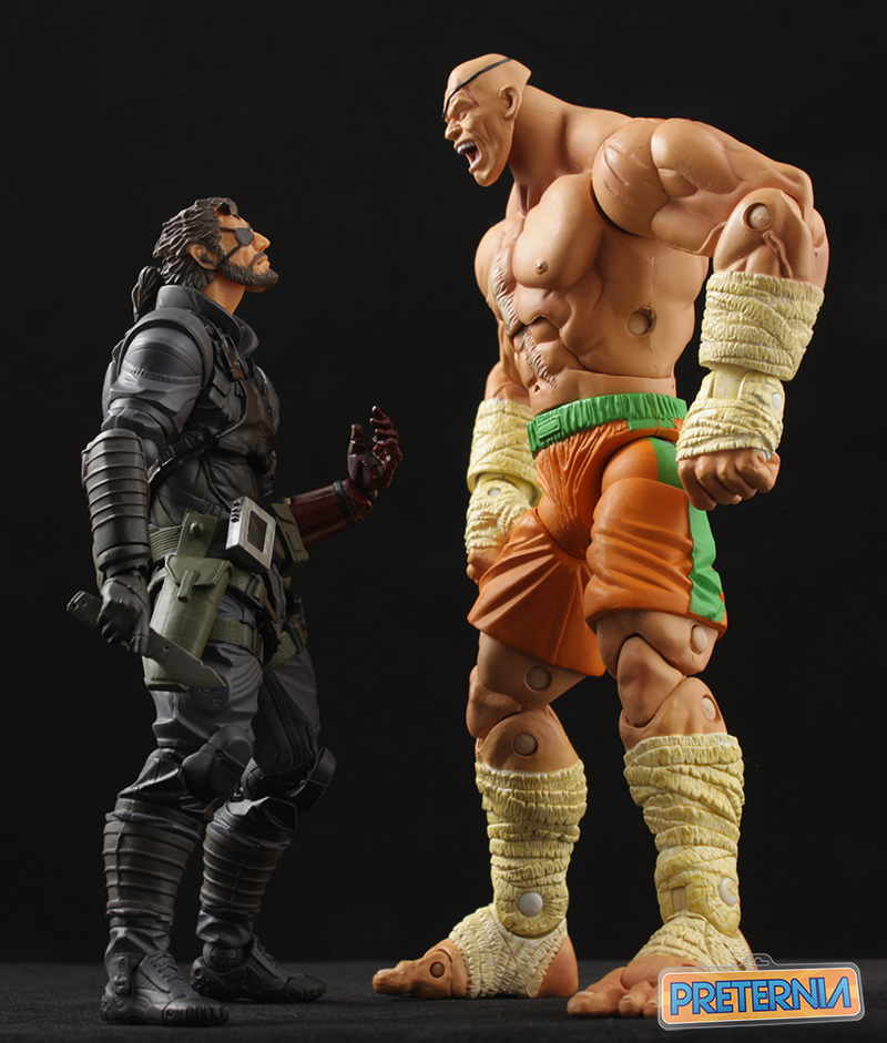 Vulcanlog Revoltech Venom Snake Big Boss Metal Gear Solid 5 Review