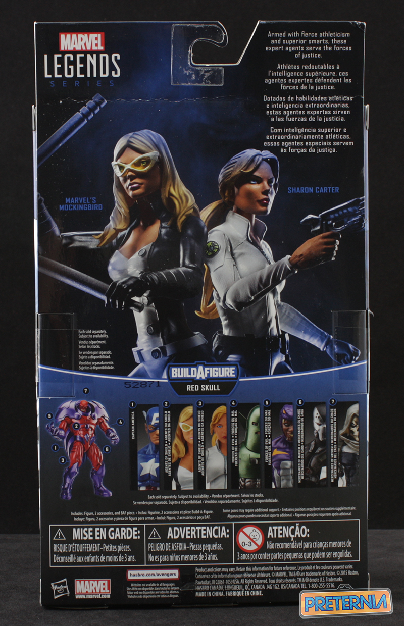 Hasbro Marvel Legends Mockingbird Onslaught Series Captain America Review