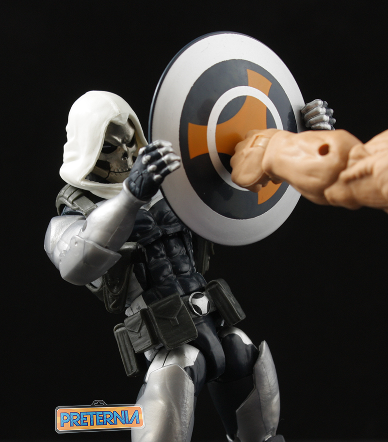 Hasbro Marvel Legends Taskmaster Onslaught Series Captain America Review