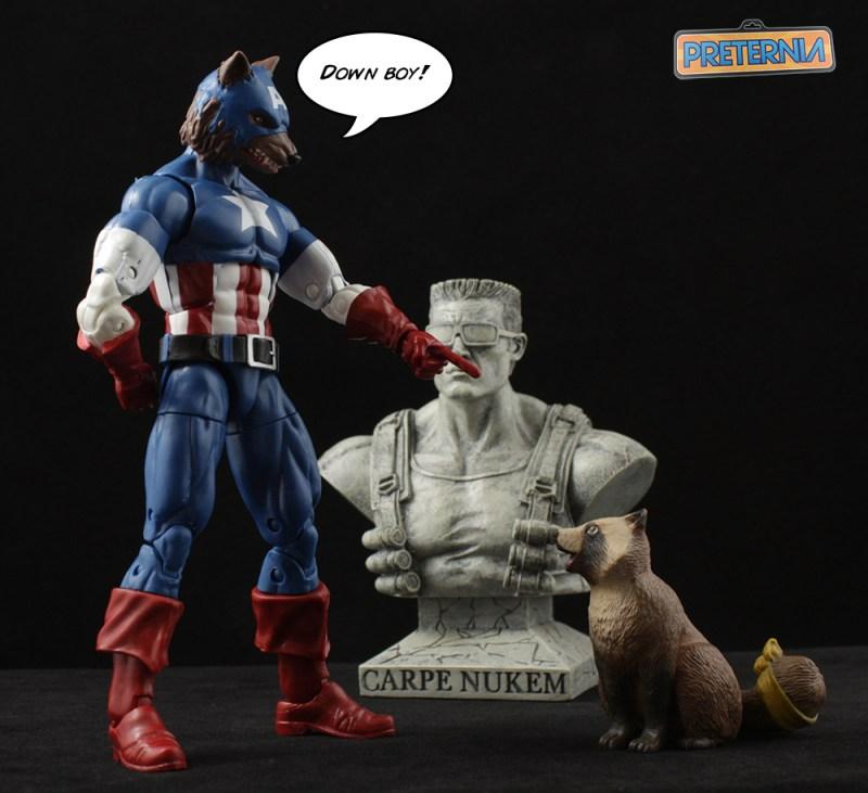 Hasbro Marvel Legends Captain America Capwolf Onslaught Series Review