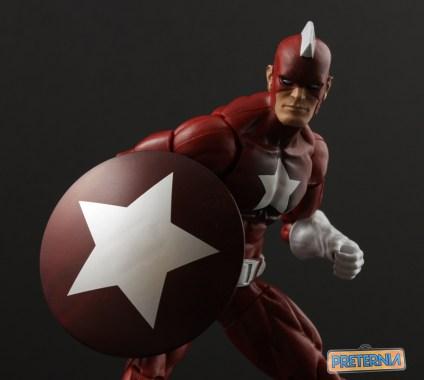 Hasbro Marvel Legends Civil War Red Guardian Captain America Review