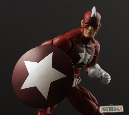Hasbro Marvel Legends Civil War Red Guardian Captain America Review