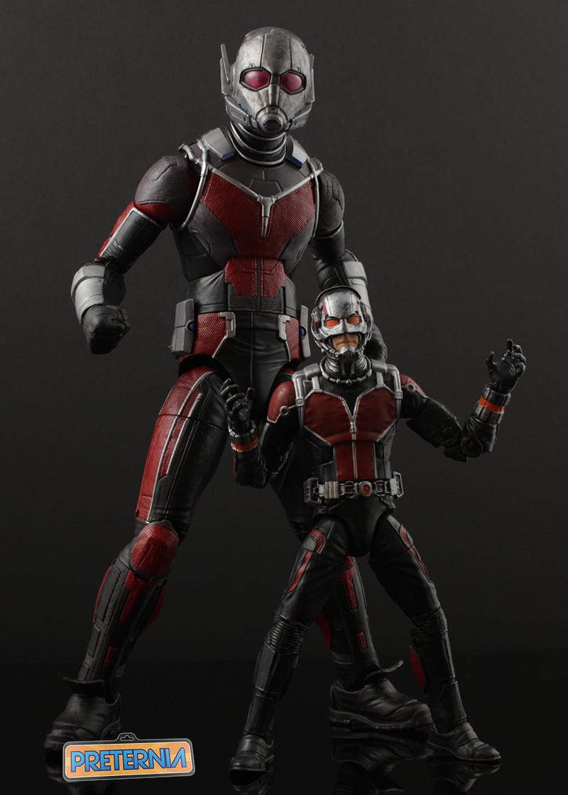 Hasbro Marvel Legends Civil War Giant Man Build-A-Figure Captain America Review