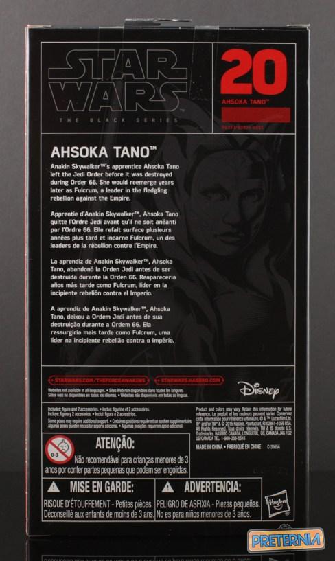 Hasbro Star Wars Black Ahsoka Tano Review